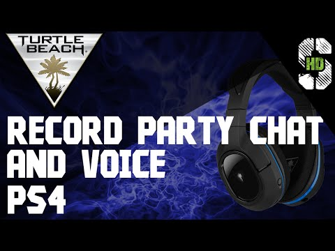 Turtle Beach 500p Record Party Chat And Voice PS4 (Elgato HD60 & Roxio Game Capture HD Pro)