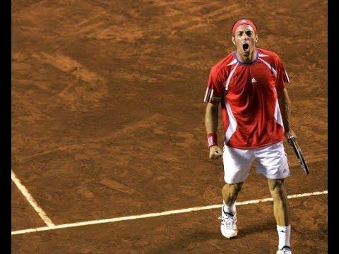 Nicolás Massú vs Dominik Hrbaty - 2006 Davis Cup 1R (FULL)