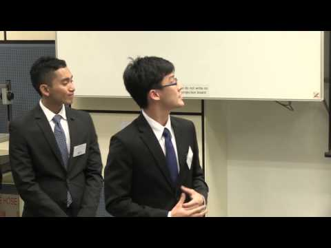 HSBC Asia Pacific Business Case Competition 2013 - Round2 D1 - NUS