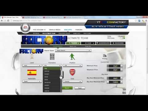 FIFA 13   BEST Trading Method #1 [BUY Coins!]