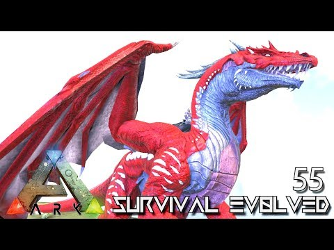 ARK: SURVIVAL EVOLVED - NEW DRAGON & ALPHA THORNY DRAGON TAME !!! E55 (MODDED ARK EXTINCTION CORE)