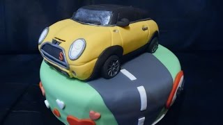 How to create a edible Mini Cooper - by De Bakjuf