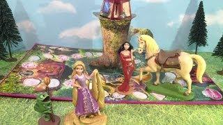 Princess Pop Up Magic Rapunzel Tangled Game Toys Video Unboxing