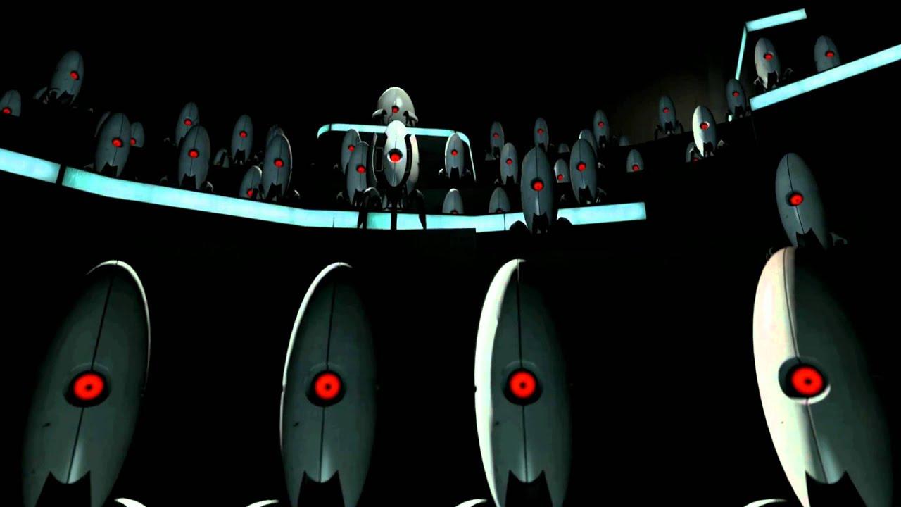 Portal 2 Turret Choir Ending Raw Audio 1080p