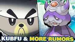 Kubfu Leak & More Remake Rumors also Pokemon Sword and Shield DLC Galarian Forms