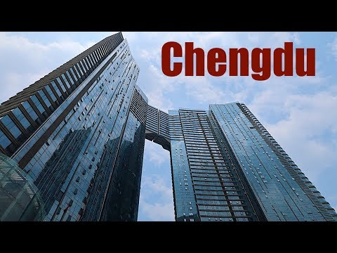 Downtown Chengdu | Best of China | Travel Guide | Walking Tour in HD