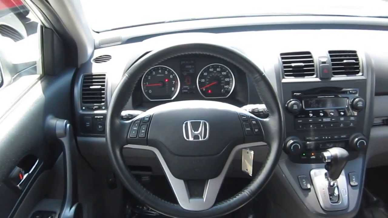 2009 Honda Cr V Silver Stock 6204a Interior Youtube