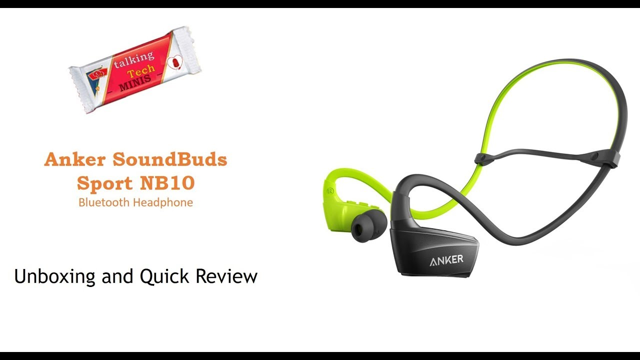 a3af038ba60 Anker SoundBuds NB10 Bluetooth earphones: Unboxing and Review - YouTube