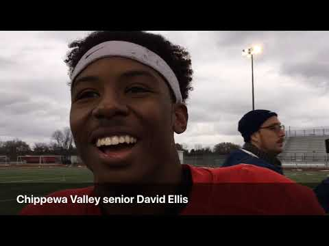 Chippewa Valley football reacts to 28-16 win over Belleville to earn state championship berth
