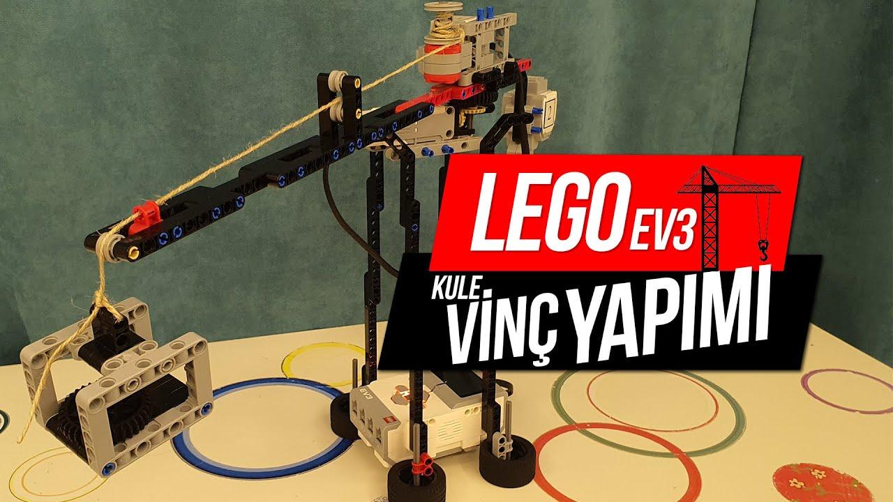 Lego Education Ev3 Kule Vinç Yapımı - Robotik Kodlama Projeleri