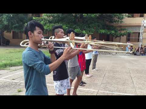 Bak Touk High School Marching Band Trombone Member 27/10/2017