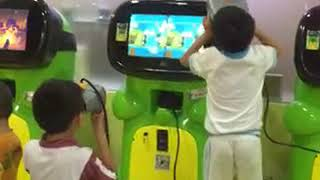 Virtual Reality 3D Cartoon vr game machine for children 2018