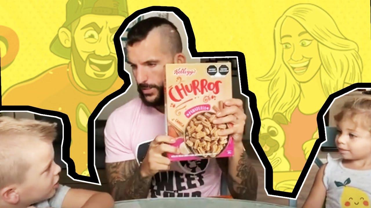 Cereal Time: Kellogg's Churros, Pan De Muerto, and Rollos De Canela!