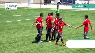 Espanya-Algèria. Jocs Mediterranis Tarragona 2018: Resum de gols