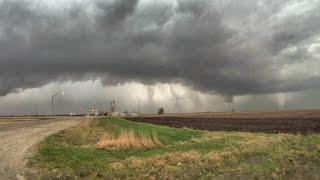Tornadoes struck in Iowa, Illinois, Ohio