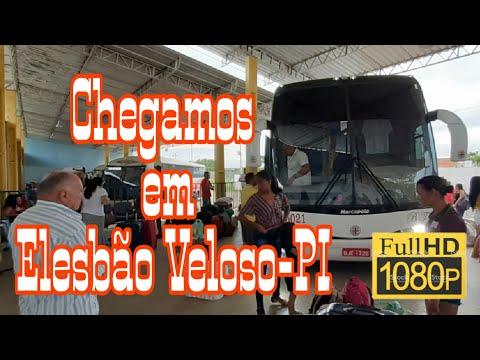Saída de Valença do Piauí e chegada a Elesbão Veloso