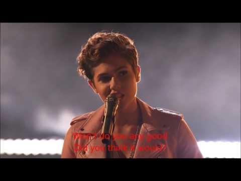 Calysta Bevier- Brave (Lyrics) | America's Got Talent Quarterfinals 2016