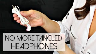 Video How To: Keep Your Headphones from Tangling download MP3, 3GP, MP4, WEBM, AVI, FLV Juli 2018