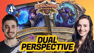 NEW EXODIA MAGE!? RDU VS ALLIE | Scholomance Academy | Hearthstone