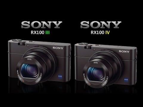 Sony RX100 III Vs Sony RX100 IV