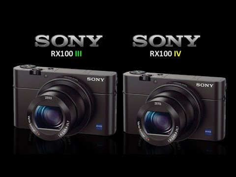 sony rx100 iii vs sony rx100 iv youtube. Black Bedroom Furniture Sets. Home Design Ideas