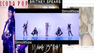 Mashup - Lady Gaga - Do What U Want - Britney Spears - Work B**ch - Icona pop ready for the weekend