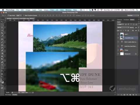 11  Смарт объекты против нормальных слоев. Видеокурс Photoshop для начинающих.
