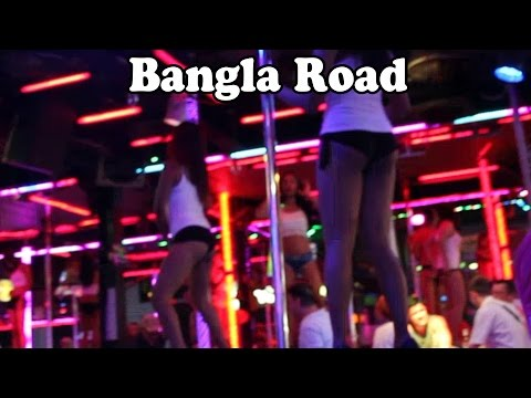 Bangla Road, Patong Beach, Phuket by Night and by Day, May 2015. Phuket Nightlife, Thailand