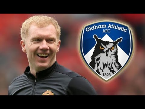 PAUL SCHOLES BECOMES OLDHAM MANAGER!?! MY THOUGHTS