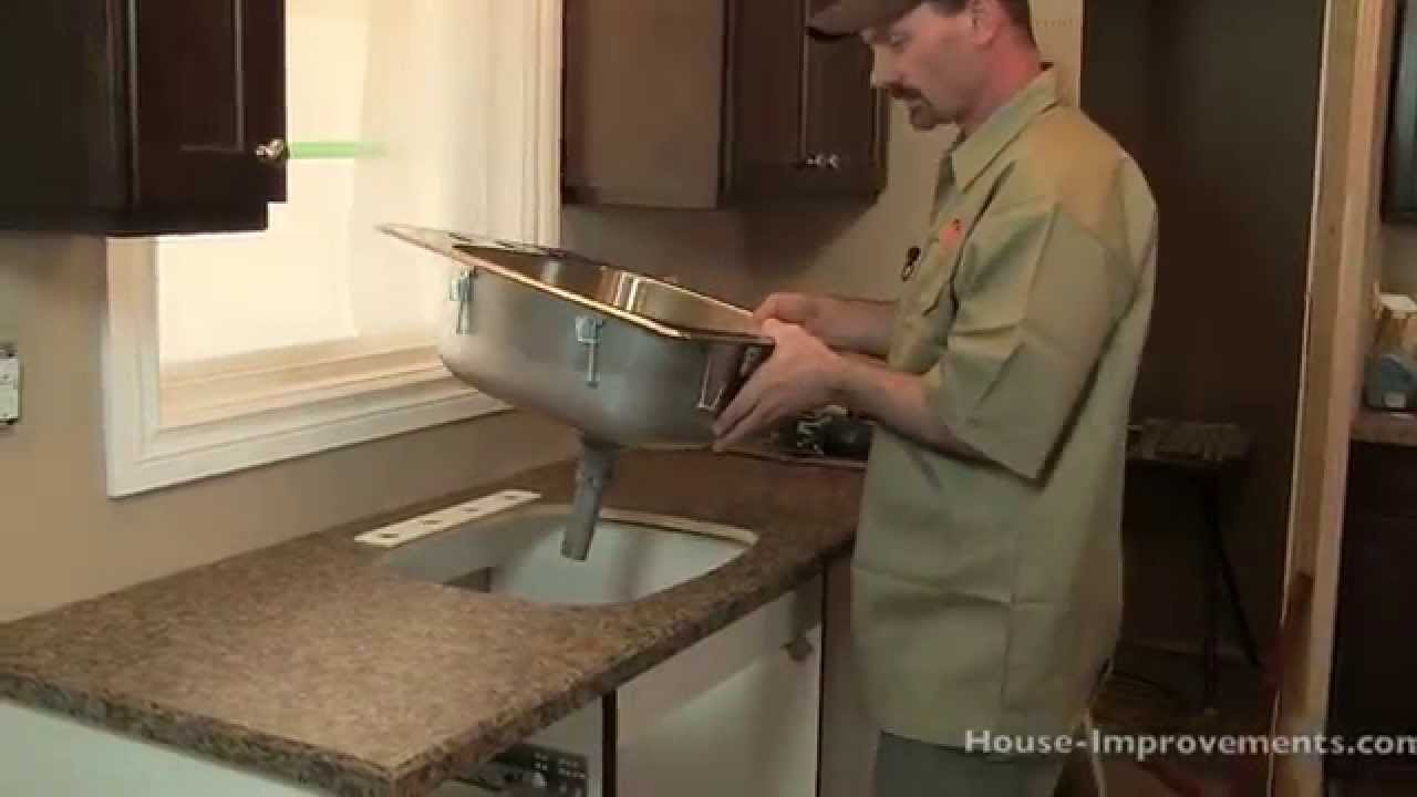 High Quality How To Install A Kitchen Sink