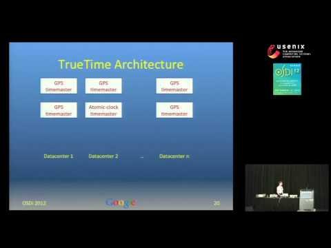 Wilson Hsieh - Spanner: Google's Globally-Distributed Database - OSDI 2012