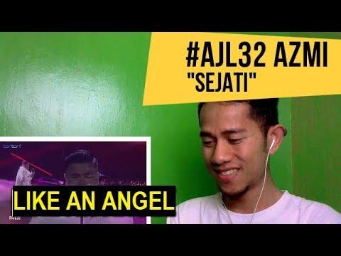 #AJL32 - AZMI - SEJATI || MV REACTION #85