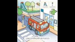 Aventura con los bomberos - Cuento para niños de 3 años