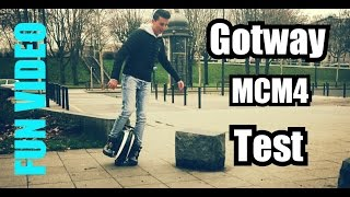 Electric Unicycle GOTWAY MCM4 | Ride test Official