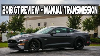 2018 Mustang GT Manual Review - The New and improved Transmission