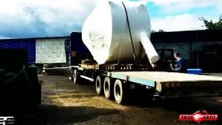видео Перевозка и доставка негабаритных тяжеловесных грузов автотранспортом по России в компании СпецГруз, Москва