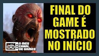 E NINGUÉM PERCEBEU... OU QUASE! FINAL DO GAME NO INÍCIO [God of War]