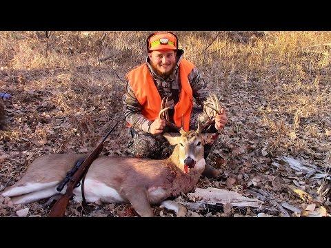 Nebraska Deer HUNT Rifle Season 2017 1st BUCK!!
