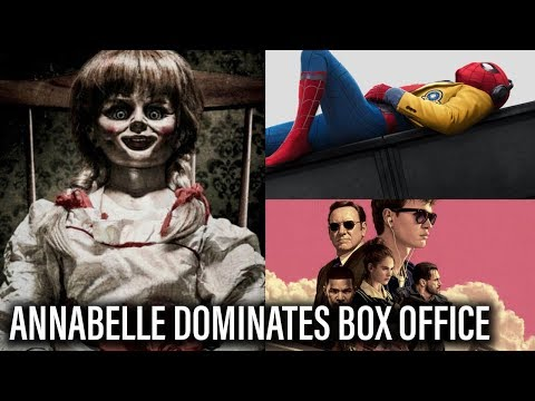 Box Office: Annabelle Crushes, Spider-Man/Baby Driver Hit Major Milestones