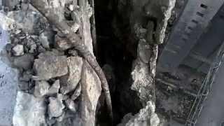 видео Демонтаж дымовой трубы: технологии сноса конструкции