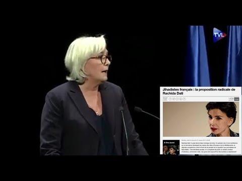 Marine Le pen et Rachida Dati sur l'attentat de Marseille !