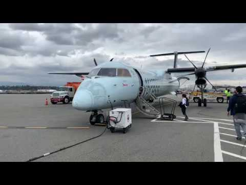 Vancouver (YVR) To Seattle (SeaTac) | Jazz (Air Canada Express) Q400