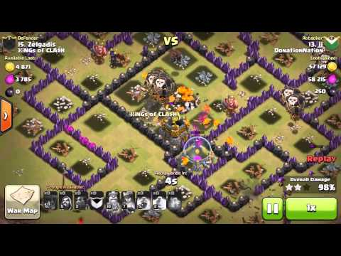 **DonationNation: Join the Nation!** Clash of Clans