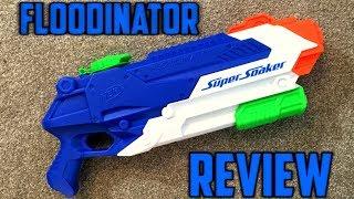 Nerf Super Soaker Floodinator Unboxing, Review & Firing