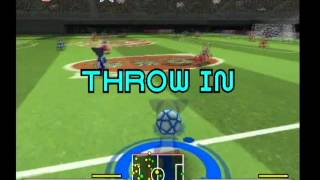 Disney Sports: Soccer gameplay, gamecube Japan