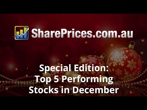 Top 5 Performing ASX Christmas Stocks