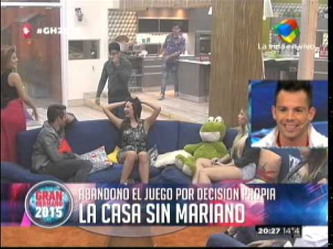 """""""Gran Hermano 2015"""" Mariano dijo que extraña a Belén y habló de su sexualidad"""
