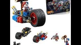 Lego Dc Comics Lepin bootleg:Gotham City Cycle Chase