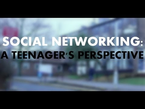 Social Networking - A Teenager