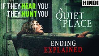 A Quiet Place 2018 Explained in HINDI | Ending Explained | Sci-fi/Horror |